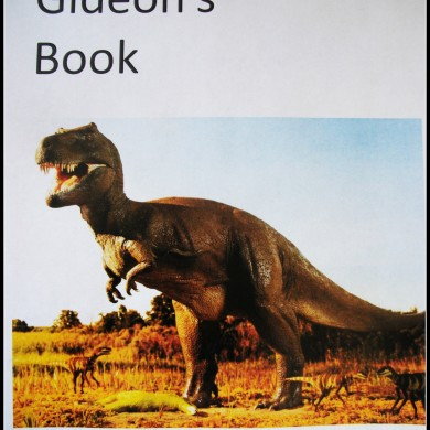 In Which Gideon Writes His First Book